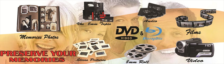 Dvd Transfer services